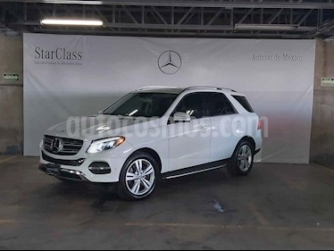 Mercedes Benz Clase GLE 5p GLE 350 Exclusive V6/3.5 Aut usado (2017) color Blanco precio $599,000
