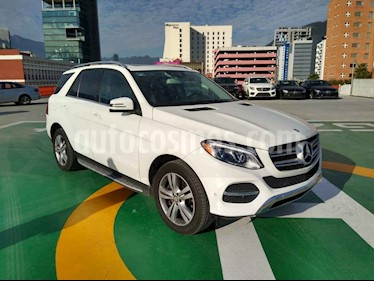 Mercedes Benz Clase GLE 5p GLE 350 Exclusive V6/3.5 Aut usado (2017) color Blanco precio $640,000