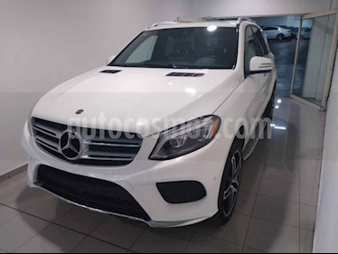 Mercedes Benz Clase GLE 5p GLE 500 V8/4.6/T Aut usado (2018) color Blanco precio $850,000