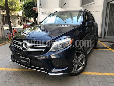 Mercedes Benz Clase GLE 5p GLE 400 Sport V6/3.0/T Aut usado (2018) color Azul precio $890,000