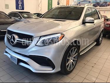 Mercedes Benz Clase GLE SUV 63 AMG usado (2016) color Plata precio $698,000