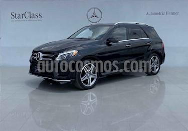 Mercedes Benz Clase GLE SUV 400 Guard VR4 usado (2016) color Negro precio $1,149,900