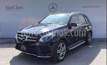 Mercedes Benz Clase GLE 5p GLE 400 Sport V6/3.0/T Aut usado (2016) color Negro precio $574,900