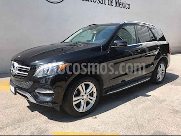 Mercedes Benz Clase GLE SUV 350 Exclusive usado (2016) color Negro precio $509,000