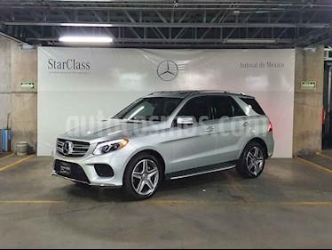 Mercedes Benz Clase GLE 5p GLE 400 Sport V6/3.0/T Aut usado (2018) color Plata precio $899,000