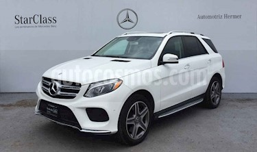 Mercedes Benz Clase GLE 5p GLE 400 Sport V6/3.0/T Aut usado (2018) color Blanco precio $849,900