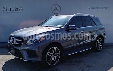 Mercedes Benz Clase GLE SUV 500 Biturbo usado (2018) color Gris precio $929,900