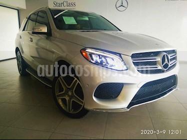Mercedes Benz Clase GLE 5p GLE 400 Sport V6/3.0/T Aut usado (2016) color Plata precio $519,500