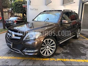 Mercedes Benz Clase GLK 5p GLK 350 Sport V6/3.5 Aut usado (2014) color Cafe precio $375,000