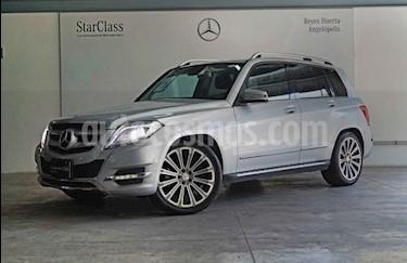 Mercedes Benz Clase GLK 5p GLK 300 Sport V6/3.5 Aut usado (2015) color Plata precio $330,000