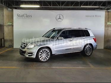 Mercedes Benz Clase GLK 5p GLK 350 Sport V6/3.5 Aut usado (2014) color Plata precio $389,000