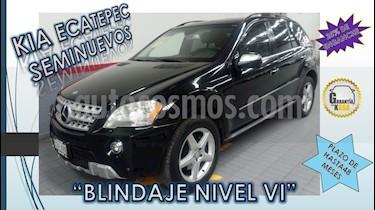 Foto venta Auto usado Mercedes Benz Clase M 5p ML 500 V8 5.4L 388 CP (2010) color Blanco precio $289,000