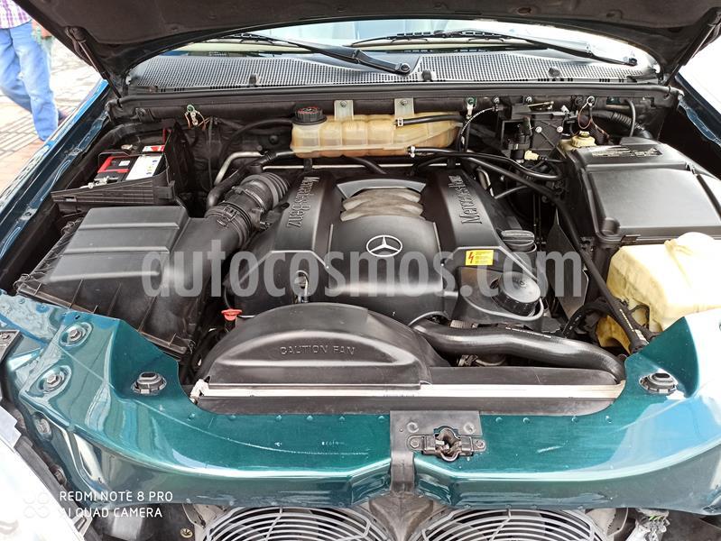 Mercedes Benz Clase M ML 350 usado (2004) color Verde Andradita precio $38.900.000
