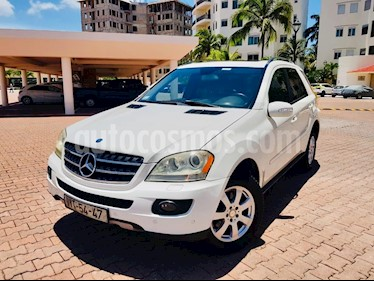 Mercedes Benz Clase M ML 350 (272hp) usado (2008) color Blanco precio $190,000