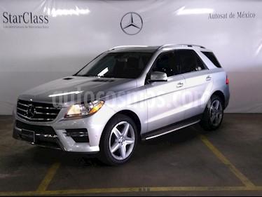 Foto venta Auto usado Mercedes Benz Clase M ML 350 CGI Sport AMG (2013) color Plata precio $459,000