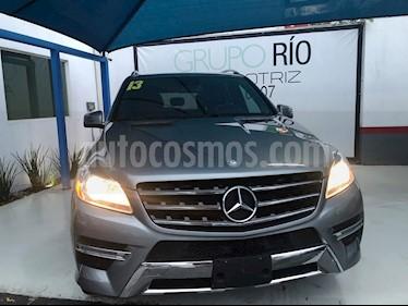 Foto Mercedes Benz Clase M ML 350 CGI Sport AMG usado (2013) color Plata precio $358,000
