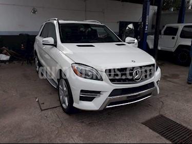 Foto venta Auto usado Mercedes Benz Clase M ML 350 CGI Sport AMG (2013) color Blanco precio $350,000