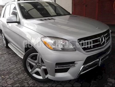 Foto venta Auto Seminuevo Mercedes Benz Clase M ML 350 CGI Sport AMG (2014) color Plata precio $495,000