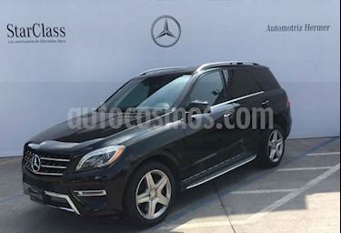 Foto venta Auto usado Mercedes Benz Clase M ML 350 CGI Sport AMG (2015) color Negro precio $549,900