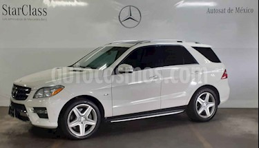 Foto venta Auto usado Mercedes Benz Clase M ML 350 CGI (2012) color Blanco precio $399,000
