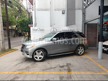 Foto venta Auto usado Mercedes Benz Clase M ML 350 CGI (2012) color Gris precio $349,844