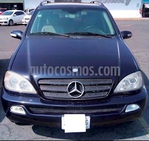 Foto venta Auto usado Mercedes Benz Clase M ML 350 Lujo (2003) color Azul Tanzanita precio $105,000