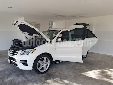 Foto venta Auto usado Mercedes Benz Clase M ML 350 Sport AMG Paq Confort (2014) color Blanco precio $470,000