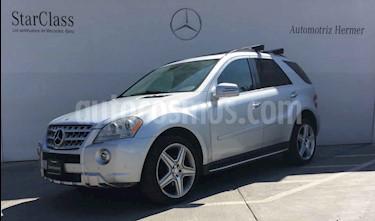 Foto venta Auto usado Mercedes Benz Clase M ML 350 Sport AMG (2011) color Plata precio $314,900