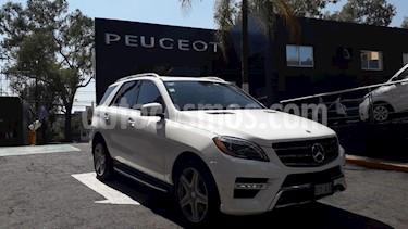 Foto venta Auto usado Mercedes Benz Clase M ML 400 CGI Sport AMG (2015) color Blanco Cirro precio $549,900