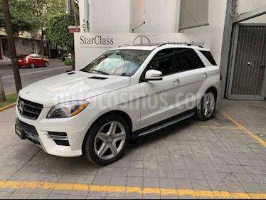 Foto venta Auto usado Mercedes Benz Clase M ML 400 CGI Sport AMG (2015) color Blanco precio $520,000