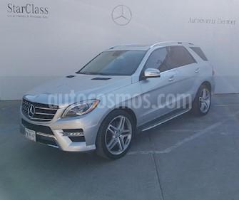 Foto venta Auto usado Mercedes Benz Clase M ML 500 CGI Biturbo (2015) color Plata precio $619,900