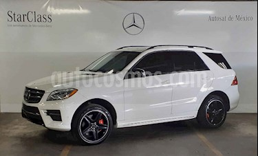 Foto venta Auto usado Mercedes Benz Clase M ML 500 CGI Guard VR4 (2015) color Blanco precio $1,199,000