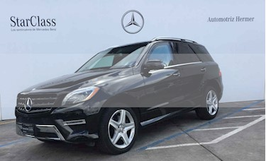 Mercedes Benz Clase M ML 500 CGI Guard VR6 usado (2014) color Negro precio $1,049,900