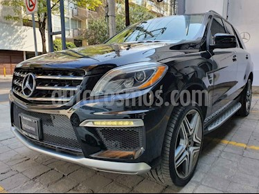 Foto Mercedes Benz Clase M ML 63 AMG usado (2013) color Negro precio $595,000