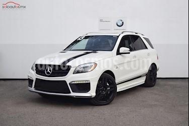 Foto venta Auto usado Mercedes Benz Clase M ML 63 AMG (2013) color Blanco precio $640,000