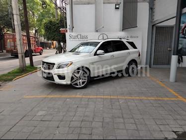 Foto venta Auto usado Mercedes Benz Clase M ML 63 AMG (2012) color Blanco precio $545,000