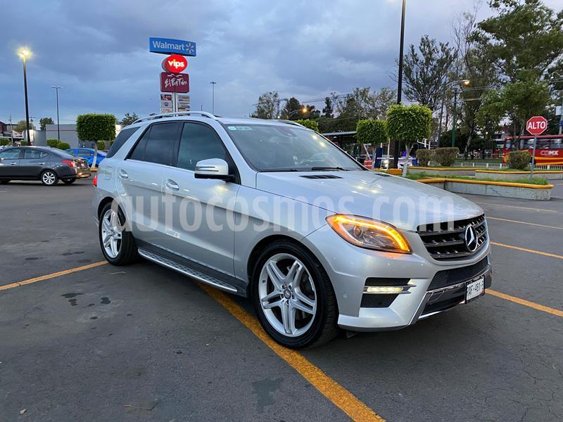 Mercedes Benz Clase M ML 500 CGI Biturbo usado (2013) color Plata precio $350,000