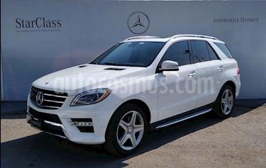 Mercedes Benz Clase M ML 350 Sport AMG usado (2015) color Blanco precio $494,900