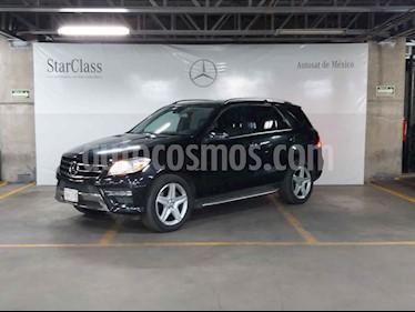 Mercedes Benz Clase M 5p ML 350 Sport aut Comfort usado (2012) color Negro precio $289,000