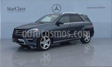 Mercedes Benz Clase M ML 400 CGI Sport AMG usado (2015) color Gris precio $1,099,900