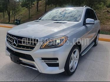 Mercedes Benz Clase M ML 350 CGI Sport AMG usado (2014) color Plata precio $399,000