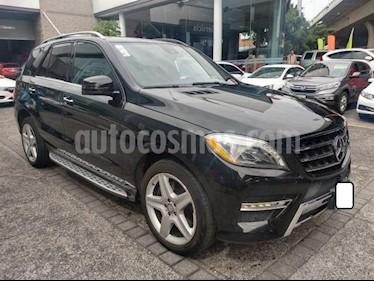 Mercedes Benz Clase M 5P ML350 CGI SPORT AMG TA usado (2014) color Negro precio $399,000