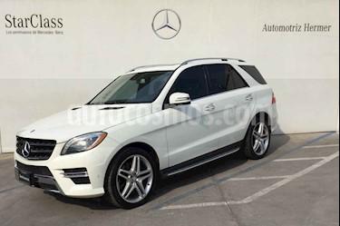 foto Mercedes Benz Clase M 5p ML 500 V8aut usado (2013) color Blanco precio $489,900