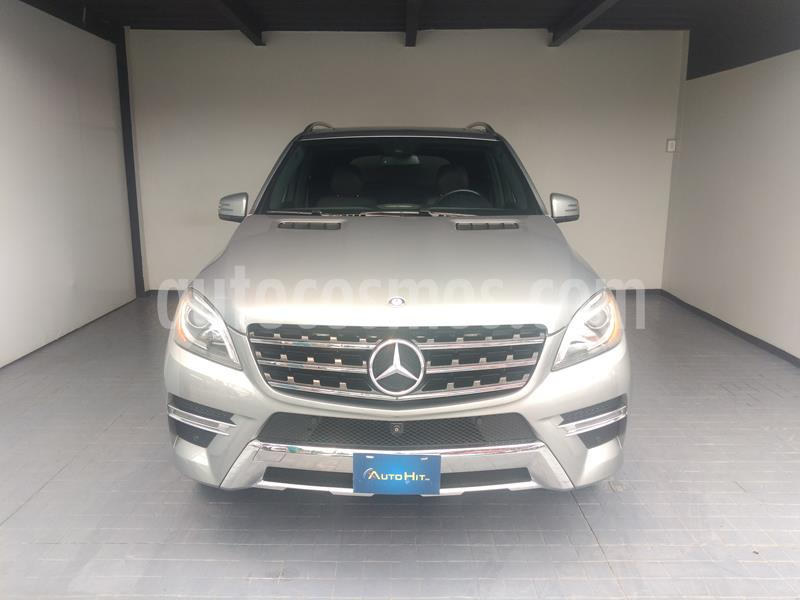 Mercedes Benz Clase M ML 350 CGI Sport AMG usado (2014) color Gris precio $393,000