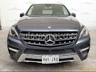 Mercedes Benz Clase M 5p ML 350 Sport V6/3.5 Aut usado (2014) color Gris precio $375,000