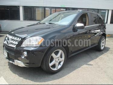 foto Mercedes Benz Clase M 5p ML 350 Sport AMG V6 3.5L 272 CP usado (2010) color Negro precio $228,000