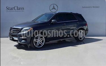 Mercedes Benz Clase M ML 500 CGI Biturbo usado (2014) color Azul precio $429,900