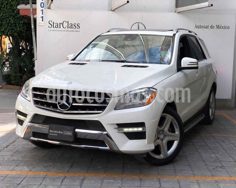 Mercedes Clase M ML 350 Basica usado (2012) color Blanco precio $345,000
