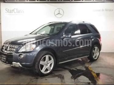 Mercedes Benz Clase M ML 500 (306hp) usado (2011) color Gris precio $265,000