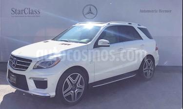 Mercedes Benz Clase M ML 63 AMG usado (2014) color Blanco precio $599,900